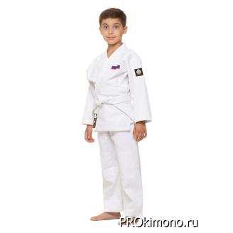 Детское кимоно для дзюдо белое