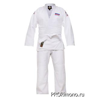 Кимоно для дзюдо белое мастер