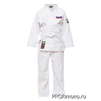 Кимоно для дзюдо белое стандарт