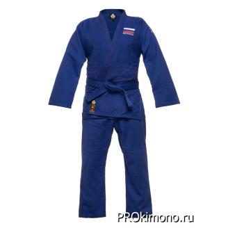 Кимоно для дзюдо синее мастер