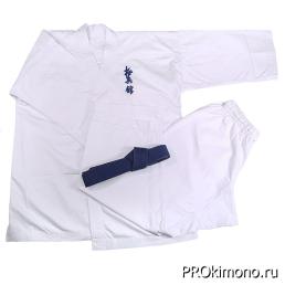 Кимоно для карате Кёкусин-кан белое