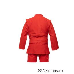 Кимоно для самбо детское красное