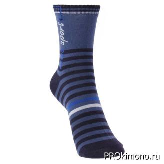 Подарок носки детские С732 синие размер 20-22