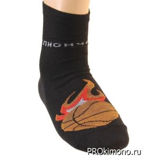 Подарок носки мужские Collorista Чемпион черные размер 27