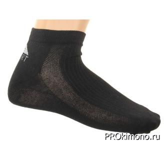 Подарок носки мужские спортивные L-361 черные размер 27-29