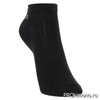 Подарок носки женские спортивные M-73 черные размер 23-25