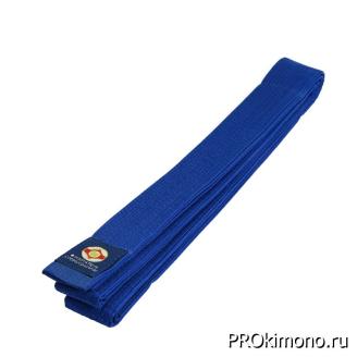 Пояс детский для карате Киокушинкай синий