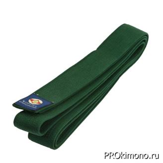 Пояс для карате Киокушинкай зелёный