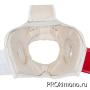 Шлем BFS модель - KYOKUSHINKAI детский белый с защитой подбородка натуральная кожа
