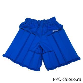 Шорты защитные BFS Антилоукик - защита для отработки лоукика детская синяя ткань