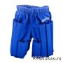 Шорты защитные BFS Антилоукик - защита для отработки лоукика синяя ткань